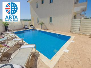 Oceanview Villa 012 - 3 bed with a Roof-Terrace - Protaras vacation rentals
