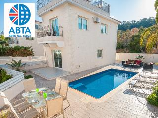 Oceanview Villa 051 - Roof-top and private pool - Protaras vacation rentals