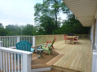 View of the lake from 2 decks - Lakeshore Dr 6br! - Michigan City vacation rentals