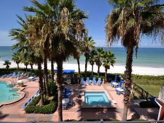 Tides Beach Club 5-354  New Listing! Beautiful Gulf Front 2 Bedroom, 2 Bath! - North Redington Beach vacation rentals
