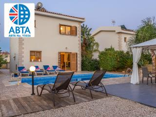Oceanview Villa 120 - spacious pool and patio area - Ayia Napa vacation rentals