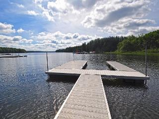Remarkable 4 bedroom lakefront home on 4 acres with private dock! - Oakland vacation rentals