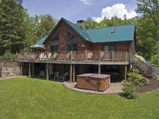 Exquisite5 Bedroom Log Home loaded with amenities on prime lakefront! - Oakland vacation rentals