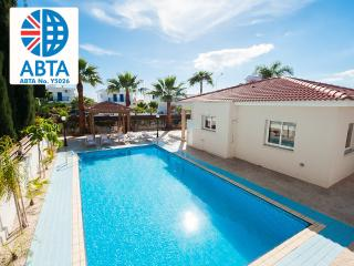 Oceanview Villa 160 - spacious pool - outside area - Ayia Napa vacation rentals