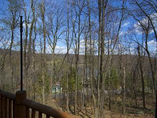 Adventures happen in this spectacular 4 Bedroom Mountain Log Home! - McHenry vacation rentals