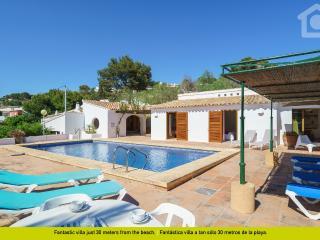 Charming Villa with Washing Machine and Television - Moraira vacation rentals