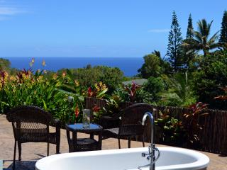 Ocean View cottage,  Pool, Organic, Child Friendly - Haiku vacation rentals