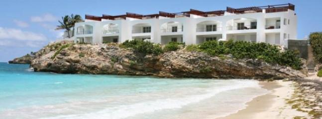 Bayview Unit #3, beachfront, Beacon Hill, St Maarten 800 480 8555 - BAYVIEW UNIT #3... just steps to the BEACH, Beacon Hill, St Maarten - Burgeaux Bay - rentals
