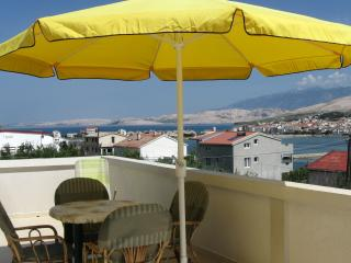 Nice Apartment with Internet Access and A/C - Pag vacation rentals