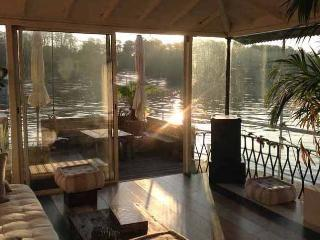 bedroom on a homey 2 level river barge - Saint-Cloud vacation rentals