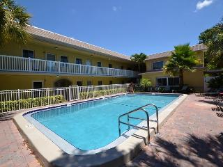 Waves 16 - 2nd Floor Condo overlooking Courtyard/Pool!  BBQ, Free Wifi w W/D! - Saint Pete Beach vacation rentals