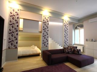Deak Fashion Suite, balcony and sauna,WiFi, A.C. - Budapest vacation rentals