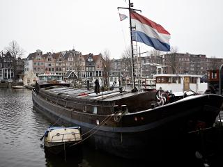 stylish houseboat in amsterdam center, own entrance - Amsterdam vacation rentals