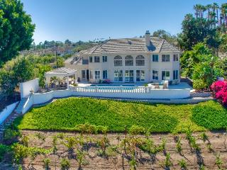 Stunning luxury estate w/ private pool & hot tub - spectacular valley views - Escondido vacation rentals