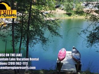 LuxeLakefront WIFI PrivateDock GameRm 25m>Yosemite - Groveland vacation rentals
