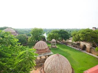 The ancient world at modern Hauz Khas village - New Delhi vacation rentals