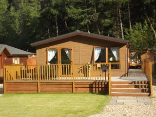 Perfect Lodge with Deck and Internet Access - Glendevon vacation rentals
