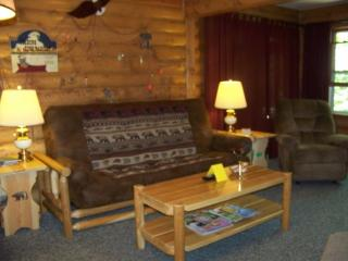 Log Cabin nestled in a Forested area on Otter Lake - Eagle River vacation rentals