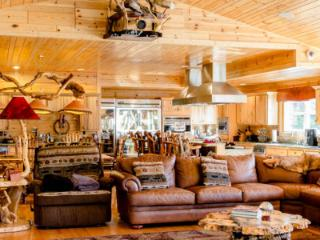 The Main Lodge at Meemo's Farm ~ All Inclusive - Evart vacation rentals