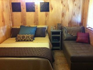 Condo 1A, 2 bedroom, 2 bath, kitchen, living area - Red River vacation rentals
