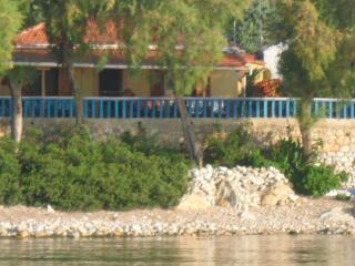 Villa in quiet area: own beach, garden & boat dock - Kalamakia vacation rentals