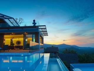Luxury 6BR Seaview Villa on Bo Phut Hill - Choeng Mon vacation rentals