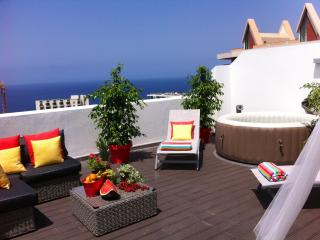 OUTDOOR JACUZZI in a top floor apartment, sea view - Funchal vacation rentals