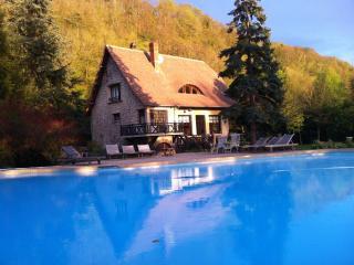 maison gite W.E pisc jard Normandie Eure cheminée - Connelles vacation rentals