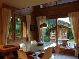 chalet de charme exposition sud vue massif - Argentiere vacation rentals