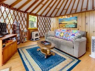 Cozy, oceanfront, dog-friendly yurt with private hot tub - Bay City vacation rentals