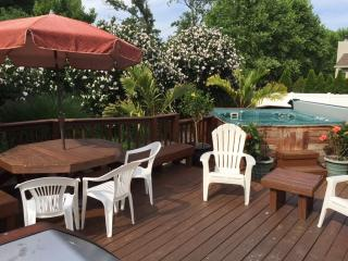 4 BRs w/Hottub, 3 blks to beach, T-day,4 nite,1000 - Dewey Beach vacation rentals