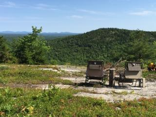 Hike-in yurt on top of Maine mountain - Orland vacation rentals