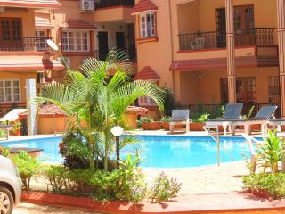 41- 1 Bed Apartment Calangute Sleeps 2/4 - Baga vacation rentals