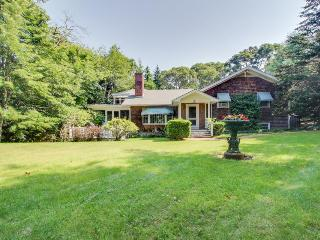 Beautiful estate w/large lawn made for socializing & kids' play room! - Martha's Vineyard vacation rentals