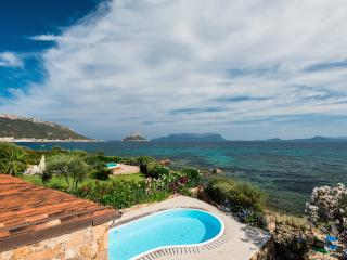 Villa with pool in front of the beach - Golfo Aranci vacation rentals