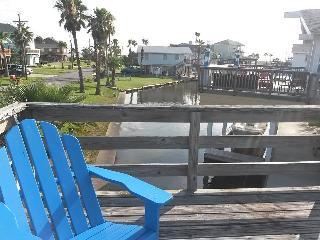 Jamaica Beach Texas Beachhouse on a canal - Jamaica Beach vacation rentals