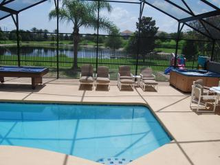 Close To Disney, Gameroom, Private Pond Backyard - Kissimmee vacation rentals