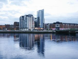 Luxury 3 Bedroom City Penthouse with River View - Limerick vacation rentals