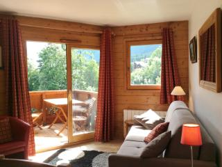 Cosy apartment in Les Houches (Haute-Savoie) w balcony, stunning mountain view – sleeps 4 - Les Houches vacation rentals