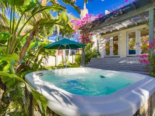 La Jolla Shores Beach Retreat: Large Private Spanish Beach Home, Hot Tub, Rooftop Deck - La Jolla vacation rentals