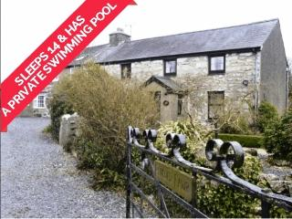 Pencoed Fawr Farmhouse WITH PRIVATE INDOOR POOL - Pwllheli vacation rentals