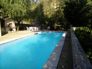 Rustic apartment in the heart of Berre-les-Alpes, with private pool and fantastic garden - Berre-les-Alpes vacation rentals