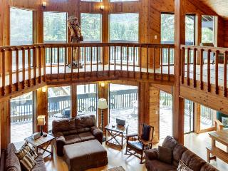 Enormous, dog-friendly home with private hot tub & sauna! - Government Camp vacation rentals