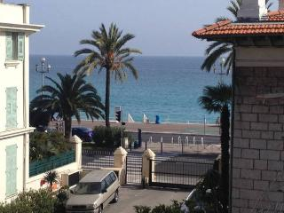 Location studio Nice plage vue mer parking - Nice vacation rentals