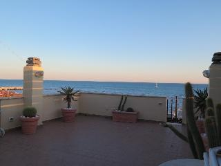 Enchanting penthouse on the sea of Rome Ostia Lido - Lido di Ostia vacation rentals