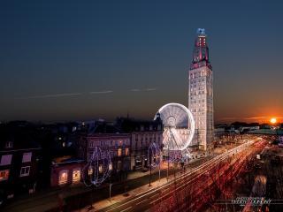 Extraordinaire. Panorama Centre Ville 16 eme étage - Amiens vacation rentals