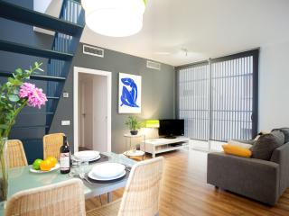 Poblenou Beach two bedrooms with terrace - Barcelona vacation rentals