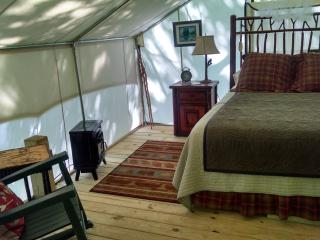 Nice Tented camp with Deck and Internet Access - Butler vacation rentals