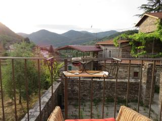 Delightful one bedroom village house with terrace - Casola in Lunigiana vacation rentals