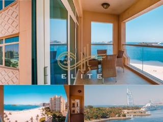 Al Sultana 2BR+ FULL SEAVIEW in Palm Jumeira - Dubai vacation rentals